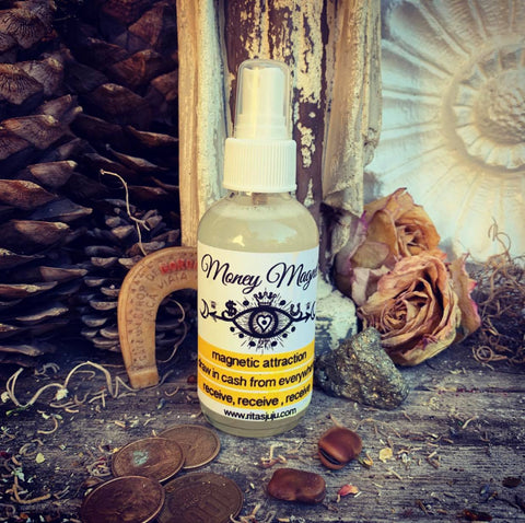 Rita's Money Magnet Spiritual Mist Spray - Gamblers Luck, Magnetic Attraction, Draw in Cash, Prosperity, Abundance, Receive