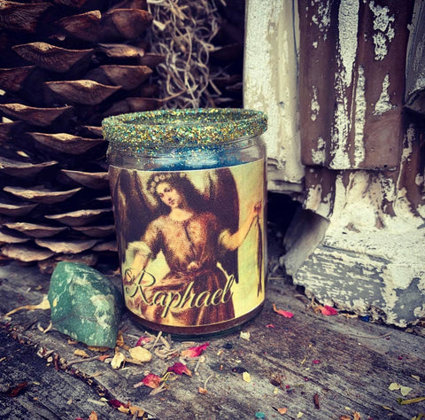 Rita's Saint Raphael the Archangel 2 Day Ritual Candle - Heal Yourself Mind, Body and Spirit, Peace, Good Health