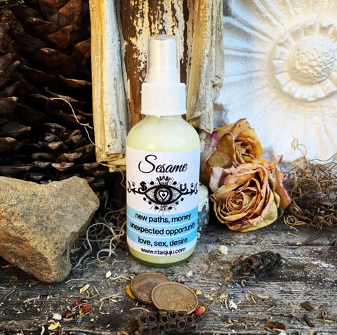 Rita's Sesame Spiritual Mist Spray Helps Provides Hope, New Paths, Unexpected Opportunity, Money, Sexual Desire