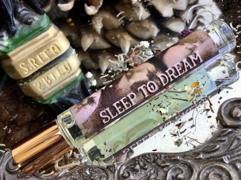 Rita's Apothefairie™ Sleep to Dream Ritual Perfume Oil - Peaceful Sleep, Loving Dreams, Star Magic, Healing