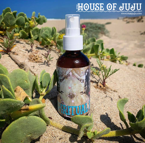 Rita's Spiritual Bliss Hand Brewed Ritual Oil, Higher Consciousness, Luv, Positive Energy, Healing