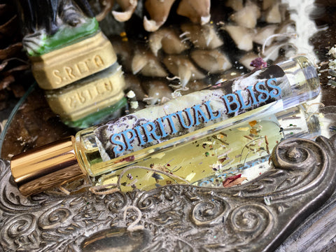 Rita's Apothefairie™ Spiritual Bliss Ritual Perfume Oil - Higher Consciousness, Love, Positive Energy, Healing
