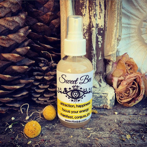 Rita's Sweet Bee Spiritual Mist Spray to Accomplish Anything You Put Your Mind To, Sweetness of Life