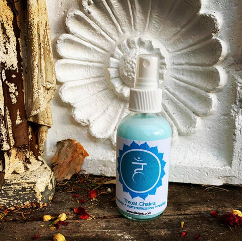 Rita's Throat Chakra Spiritual Mist Spray - Expression, Be Heard, Originality, Truth