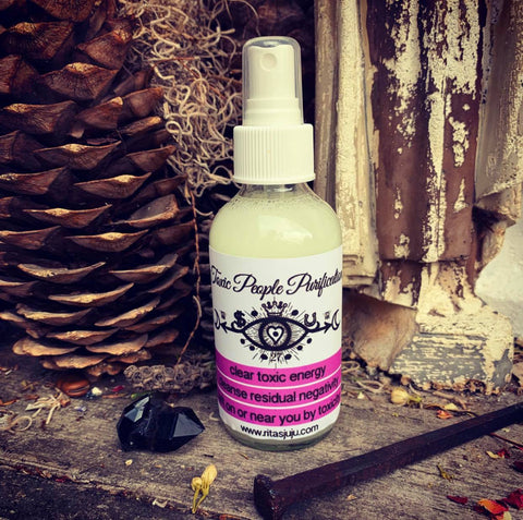 Rita's Toxic People Purification Spiritual Mist Spray - Clear Toxic Residual Negativity Left On or Near You by Toxic People
