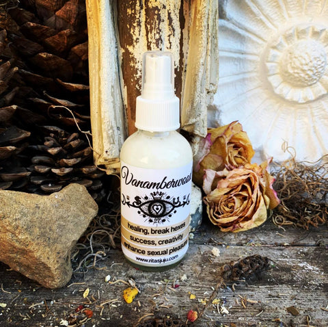 Rita's Vanamberwood Spiritual Mist Spray for Creativity, Success, Healing, Break Hexes, Sexual Energy