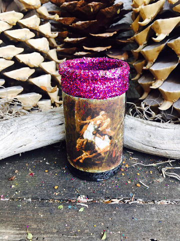 Rita's Wolf Totem 2 Day Hoodoo Ritual Candle for Intuition, Face Darkest Fears, Find Inner Power, Luv Yourself