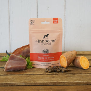 Innocent Hound - Tuna & Crab Training Treats 70g