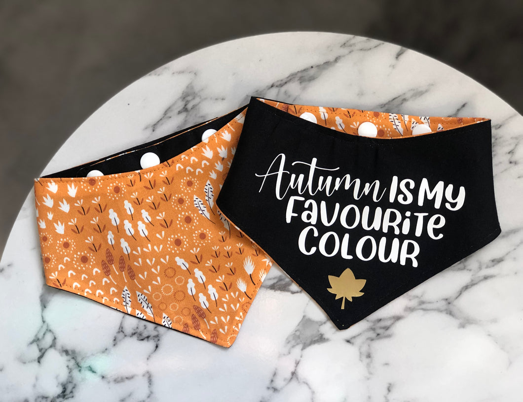 Autumn Leaves Bandana