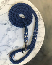 Load image into Gallery viewer, Denim Rope Lead