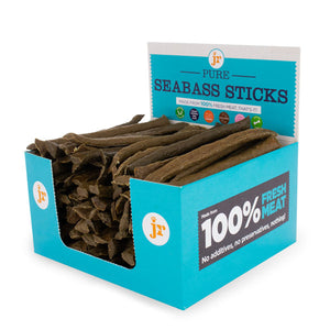 JR Pet Products - Pure Seabass Sticks - 8 x Sticks
