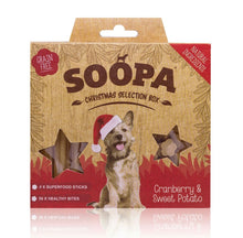Load image into Gallery viewer, Soopa - Christmas Selection Box - Cranberry & Sweet Potato