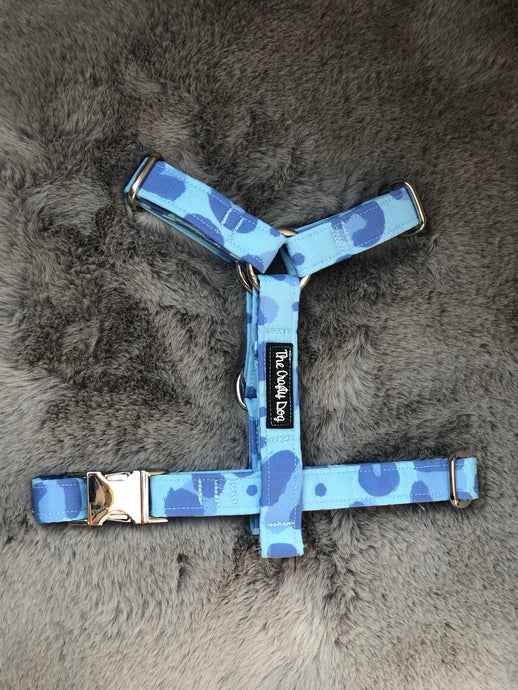 Leo Blue Strap Harness