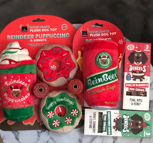Gift Set Four - Adios, Denzels,Christmas Reinbeer, Puppuccino & Donut