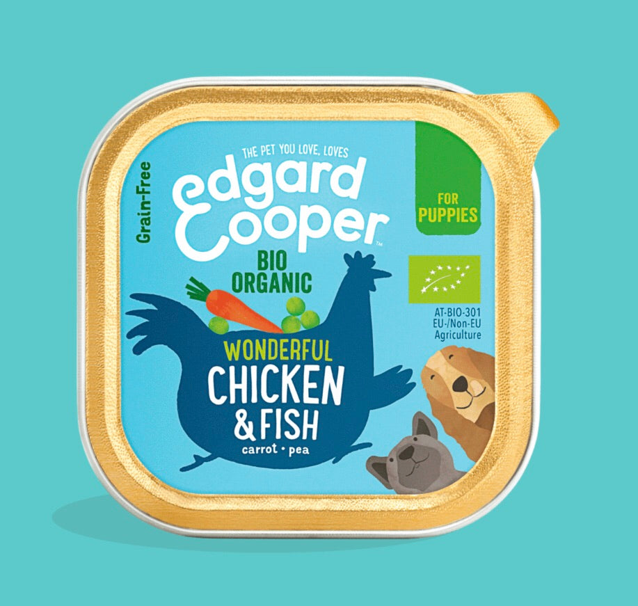 Edgard & Cooper - Organic Chicken & Fish Cup 100g