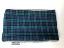 Load image into Gallery viewer, Blue Tartan Snood