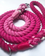 Load image into Gallery viewer, Pink Ombre rope lead