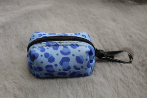 Winter Blues Poop Bag Holder