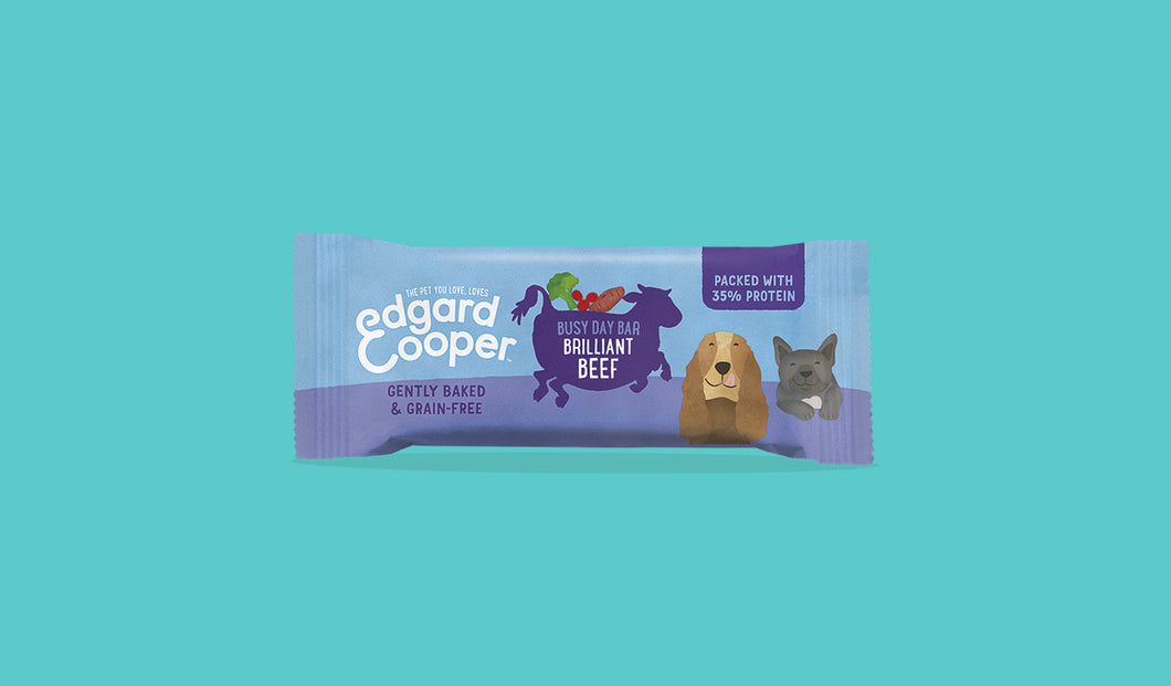 Edgard & Cooper - Brilliant Beef Busy Day Bar 25g