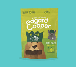 Edgard & Cooper - Luscious lamb and beef jerky 150g