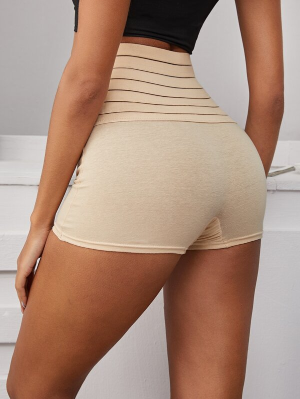 Women Striped Shape Wear Panty
