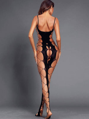 Ladies Sexy Hollow Out Bodystocking