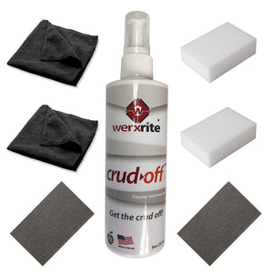 Crud-Off Cleaning Surface Kit With Cloths, Sponges and Scrubbing Pads