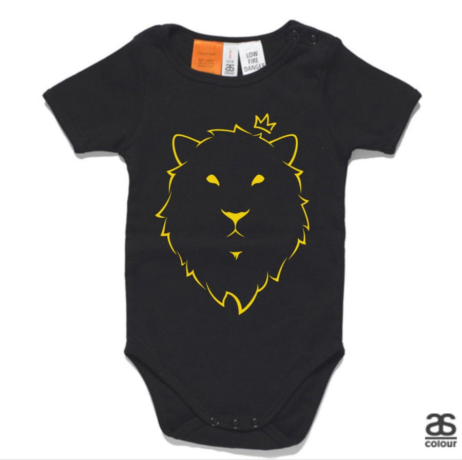 Against All Odds #01 Baby Onesie (GOLD Print)