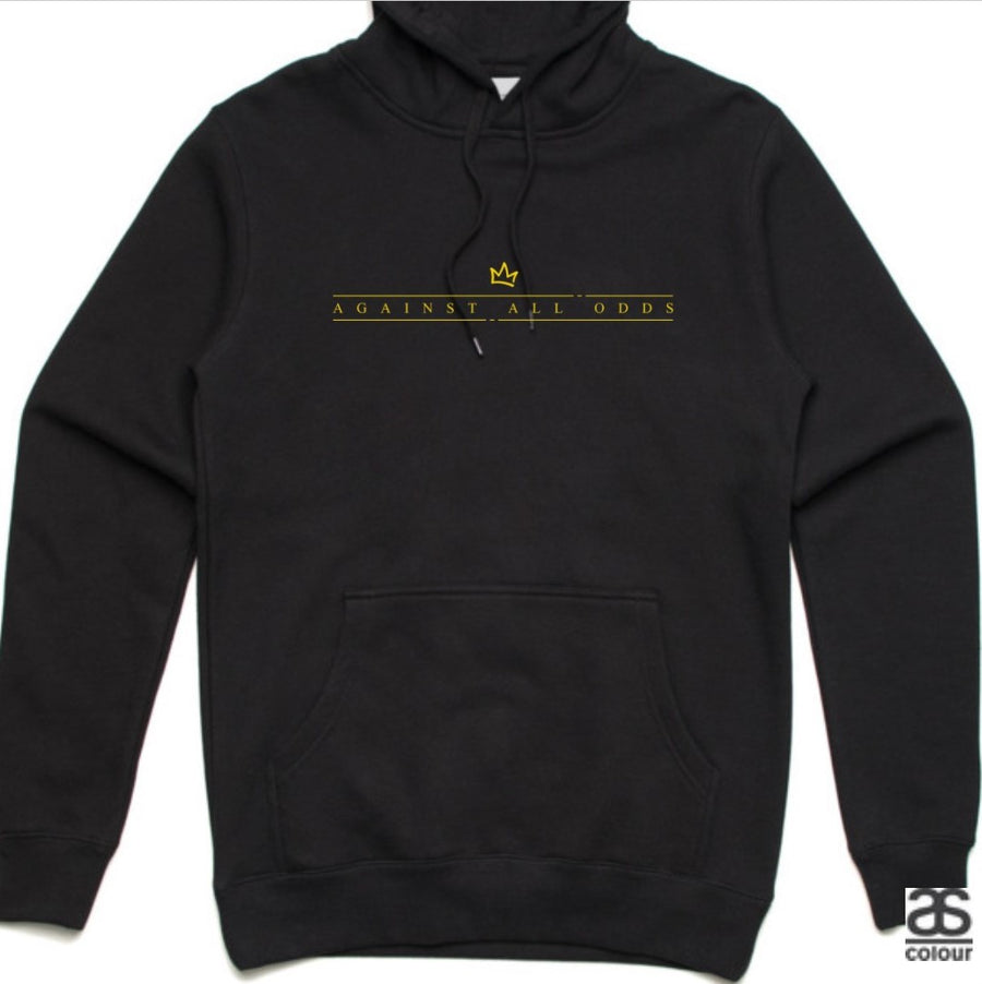 Against All Odds #01 Unisex Hoodie (GOLD Print)