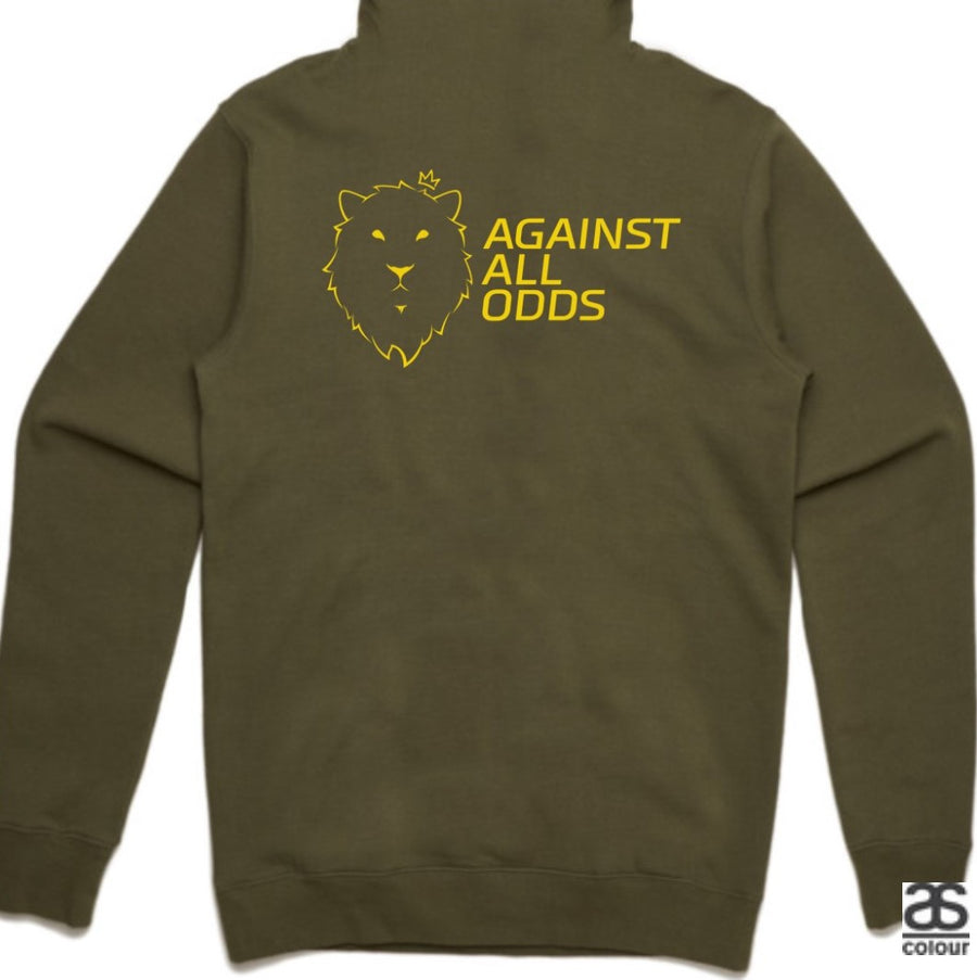 Against All Odds #02 Hoodies (GOLD Print)