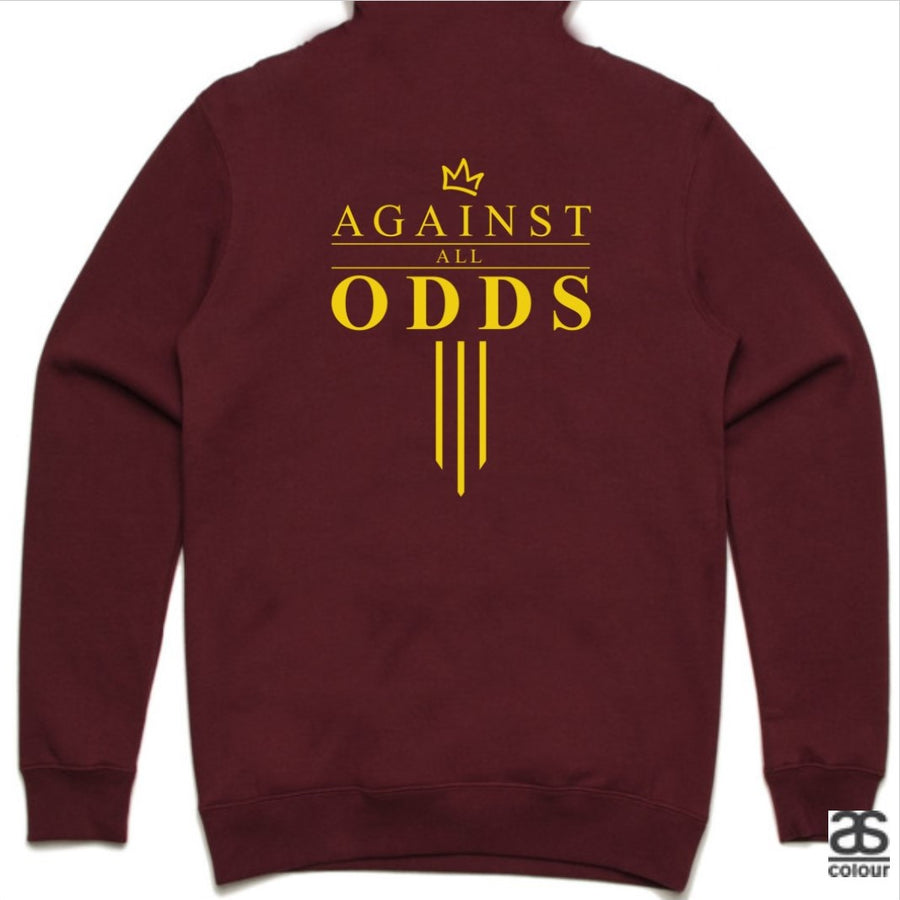 Against All Odds #03 Unisex Hoodie (GOLD Print)