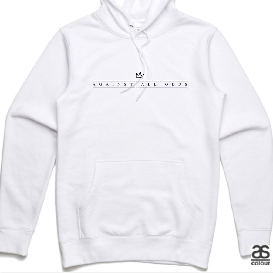 Against All Odds #01 Unisex Hoodies (B&W Print)