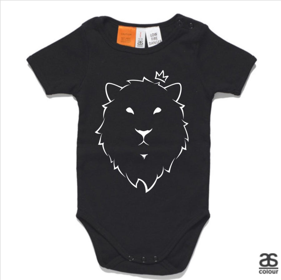 Against All Odds #01 Baby Onesie (B&W Print)