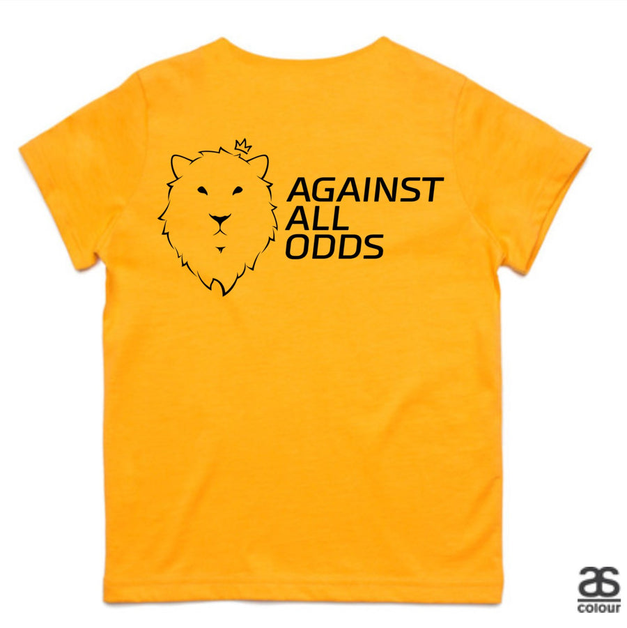 Against All Odds #02 Kids Tee (B&W Print)