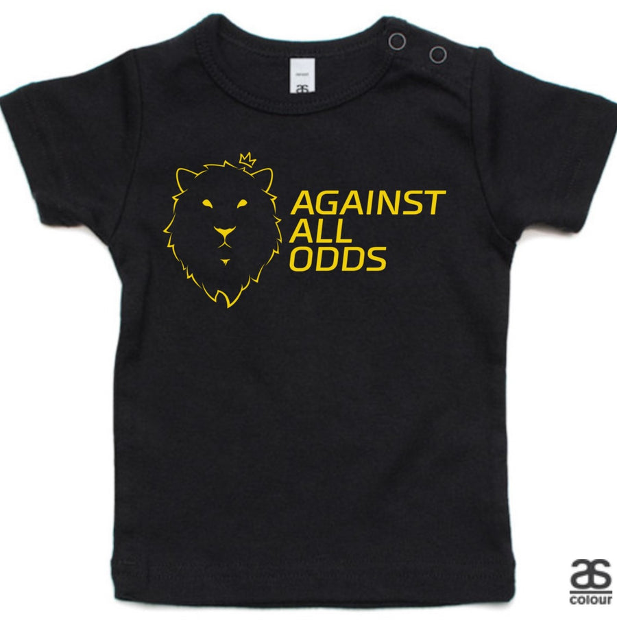 Against All Odds #02 Toddler Tee (GOLD Print)
