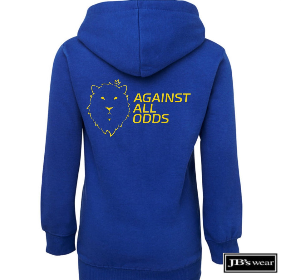 Against All Odds #02 Youth Hoodie (GOLD Print)