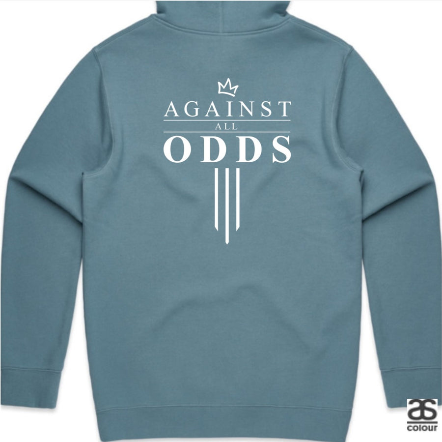 Against All Odds #03 Unisex Hoodies (B&W Print)