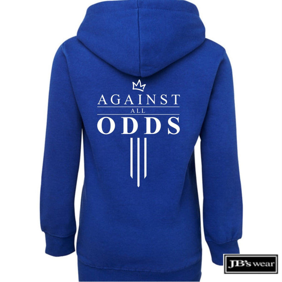 Against All Odds #03 Youth Hoodie (B&W Print)