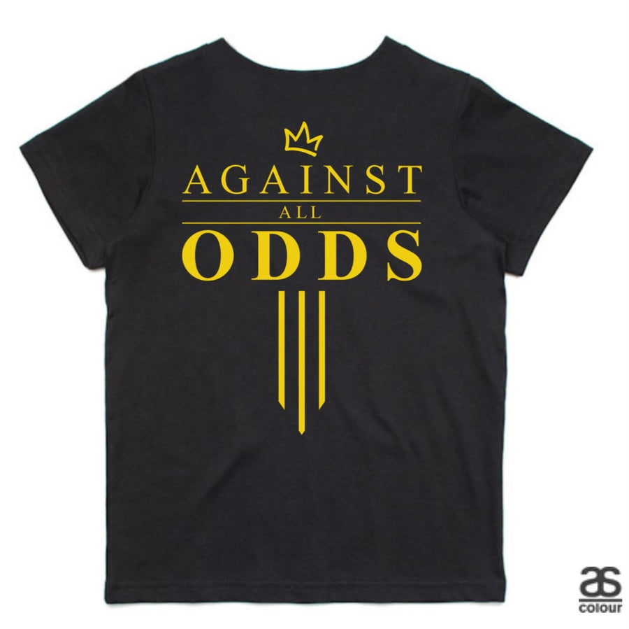 Against All Odds #03 Kids Tees (GOLD Print)