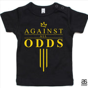 Against All Odds #03 Toddler Tee (GOLD Print)