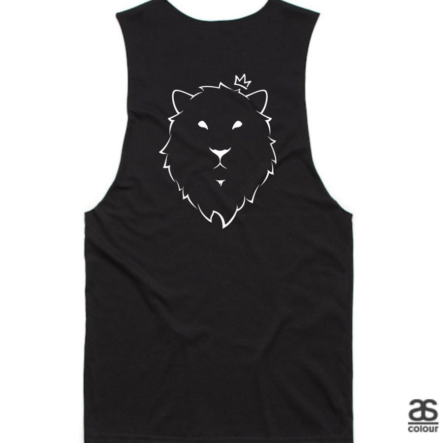 Against All Odds #01 Mens Tanks (B&W Print)