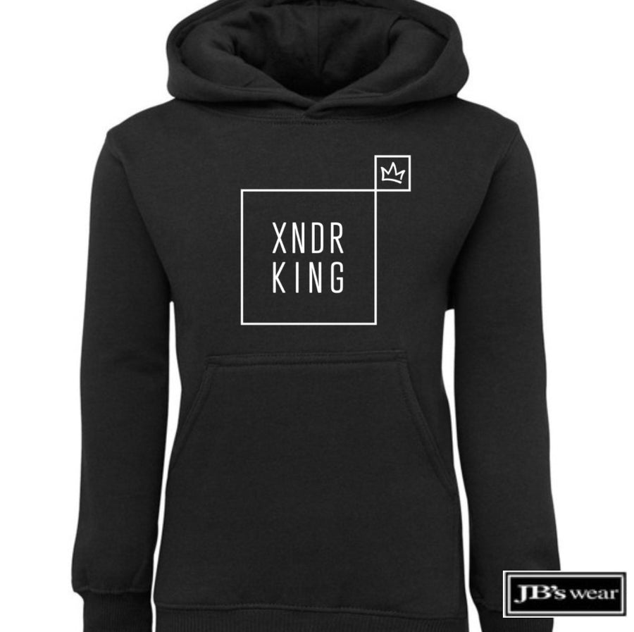 Affixed Youth Black Hoodie