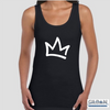 XK Crown - Ladies Black Tank