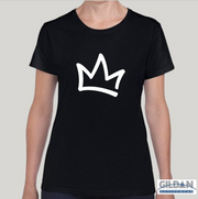 XK Crown - Ladies Black Tee