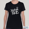 XK Logo - Ladies Black Tee