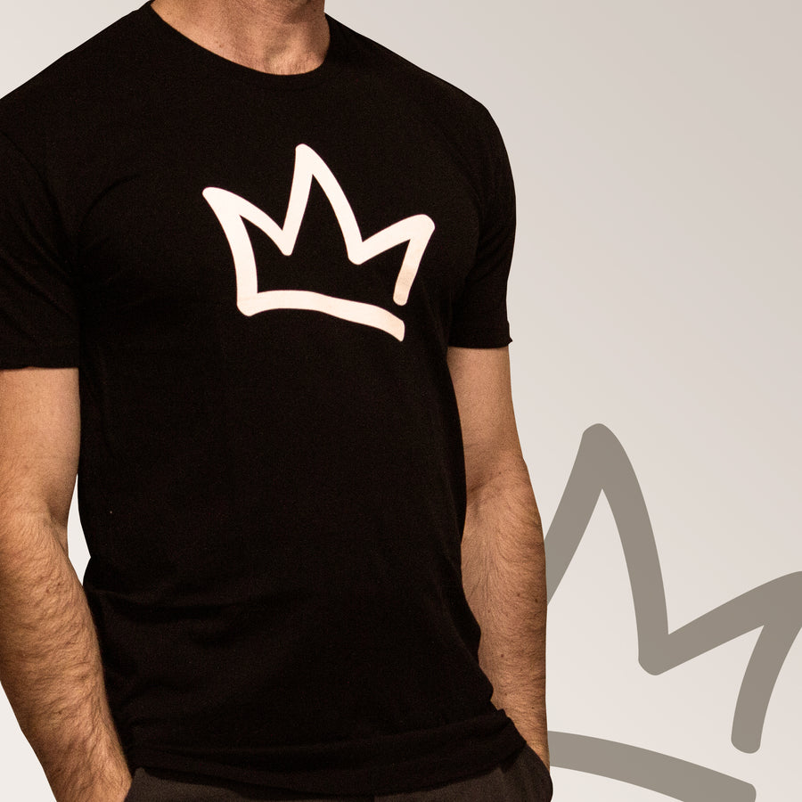 XK Crown - Mens Black Tee