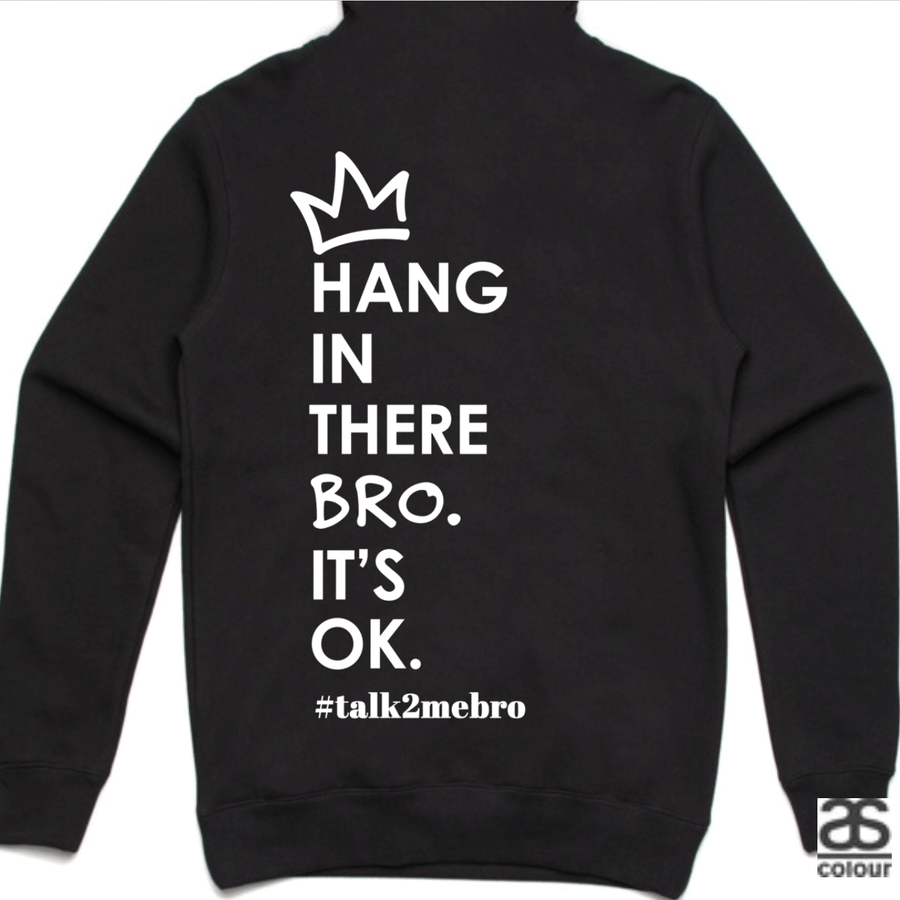 #T2MB Hang In There - Unisex Black Hoodie