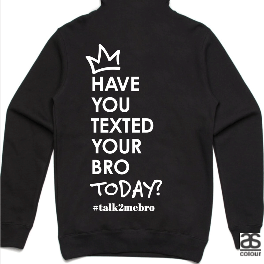 #T2MB Texted Today? - Unisex Black Hoodie