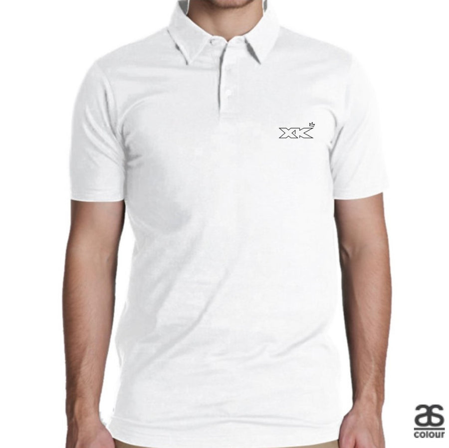 Initial Crest Mens Polo