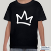 XK Crown - Toddlers Black Tee